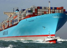 Transport par containers - Container carrier